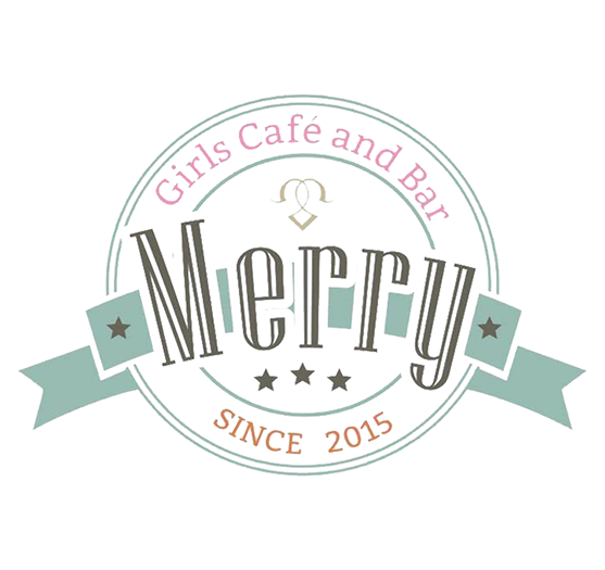 Girls Cafe and Bar Merry 門前仲町ロゴ